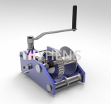 Manual Hand Winch_ Worm gear_ Capacity _ 3ton